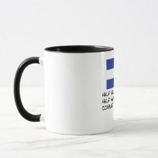 Half El Salvadorian Completely Awesome Mug