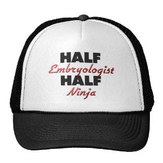 Half Embryologist Half Ninja Hats