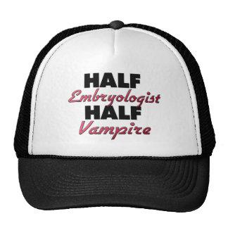 Half Embryologist Half Vampire Mesh Hats