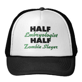 Half Embryologist Half Zombie Slayer Mesh Hat