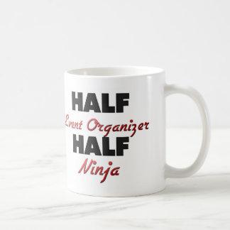 Half Event Organizer Half Ninja Classic White Coffee Mug