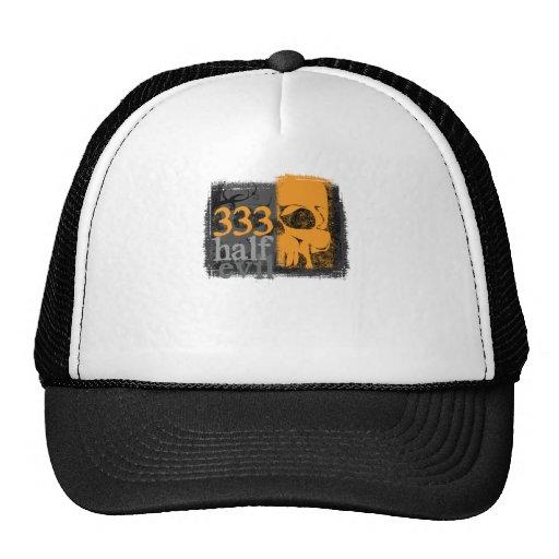 Half evil 333 trucker hat