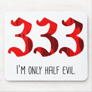 Half Evil Mouse Pad