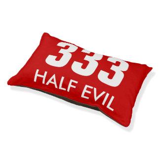 Half Evil Pet Bed