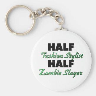 Half Fashion Stylist Half Zombie Slayer Key Chain