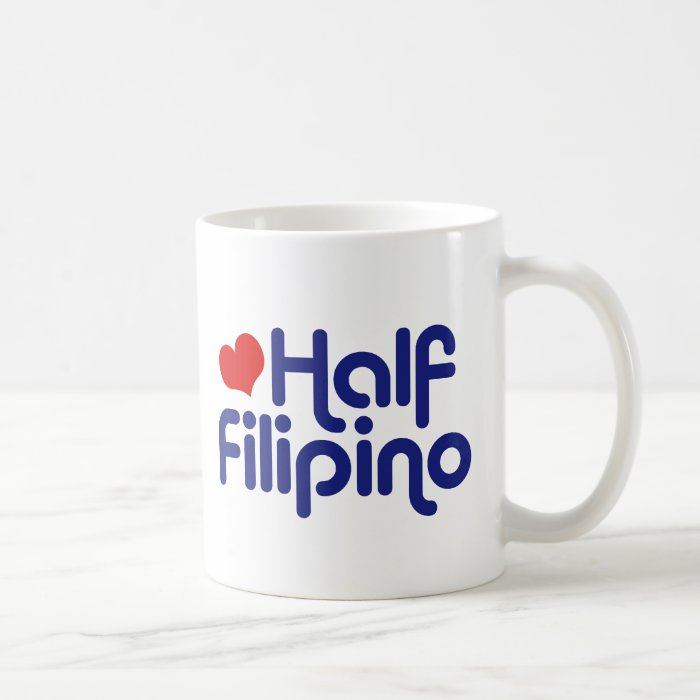 Half Filipino Coffee Mug