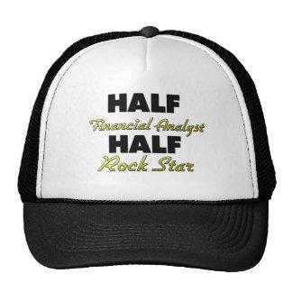 Half Financial Analyst Half Rock Star Mesh Hat