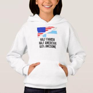 Half Finnish Half American Awesome Hoodie