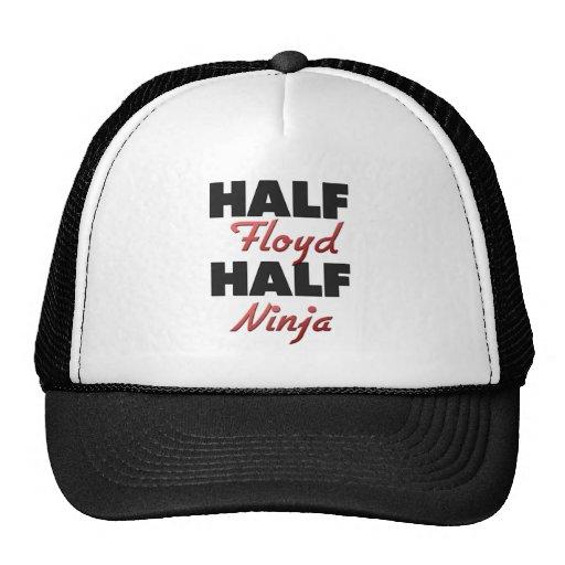 Half Floyd Half Ninja Trucker Hat