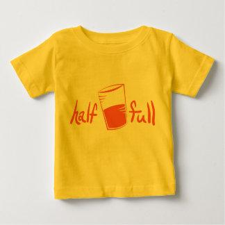 Half full baby T-Shirt