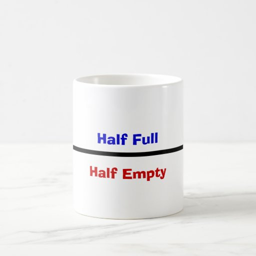 half full or half empty Abstract aim: the prisma-france pilot project is aimed at implementing an  innovative case management type integration model in the 20th.