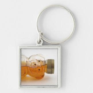 Half Full Honey Bear Tipped Keychain