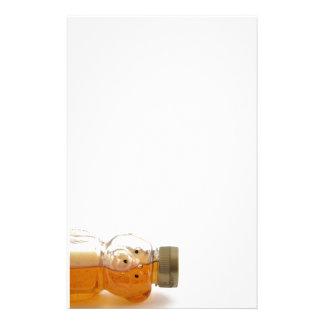 Half Full Honey Bear Tipped Stationery