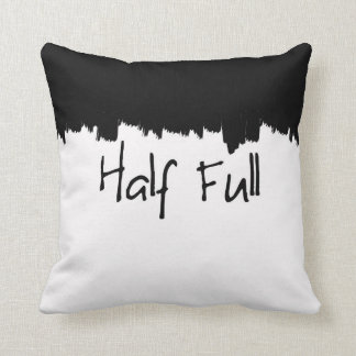 Half Full Pillow