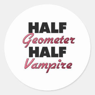 Half Geometer Half Vampire Sticker
