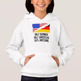 Half German Half American Awesome Hoodie