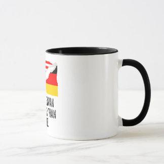 Half German Is Better Than None Mug