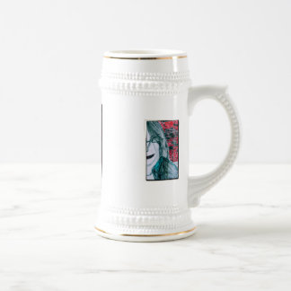 Half Girl Coffee Mug