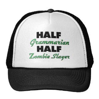 Half Grammarian Half Zombie Slayer Hats
