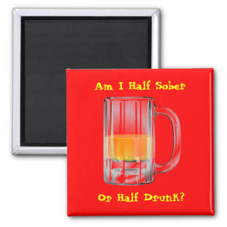 Half & Half Magnet