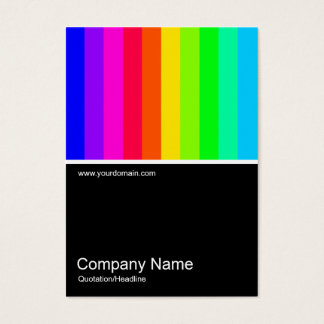 Half&Half Photo 0132 - Color Bars Business Card