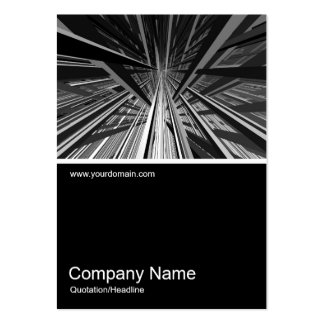 Half&Half Photo 0149 - Extreme Perspective Business Card Template