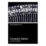 Half&Half Photo 0164 - Typewriter Business Cards