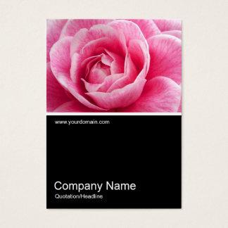 Half&Half Photo 020 - Pink Camelia Business Card