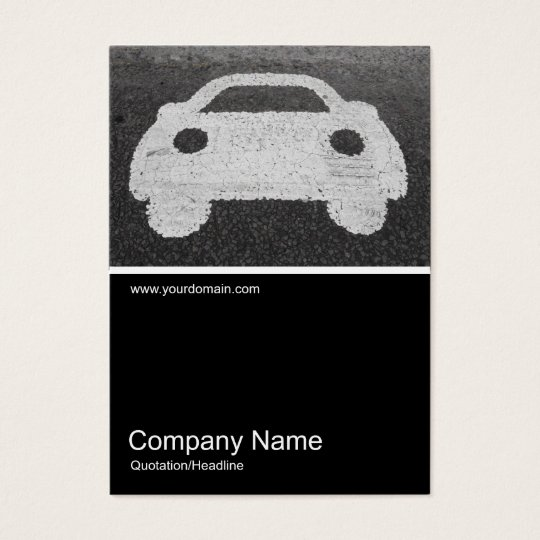 Half&Half Photo 0336 - Road Car Business Card