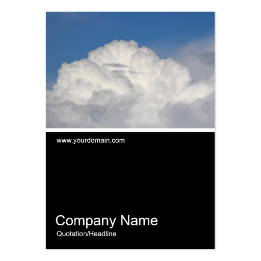 Half&Half Photo 0341 - Cumulonimbus Business Card Template