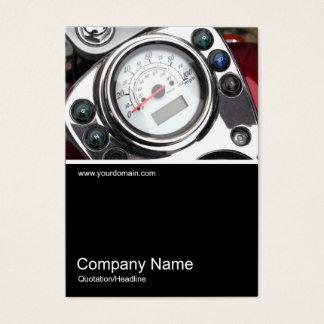 Half&Half Photo 0343 - Motorcycle Speedometer Business Card