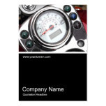 Half&Half Photo 0343 - Motorcycle Speedometer Business Cards