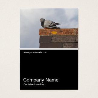 Half&Half Photo 0376 - Good Morning Pigeon Business Card
