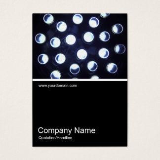 Half&Half Photo 0377 - LED Light Business Card