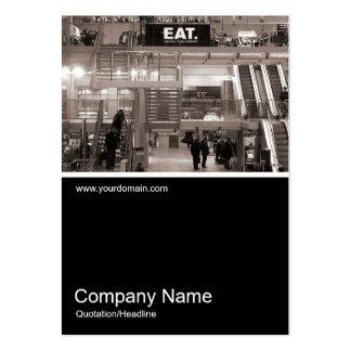 Half&Half Photo 038 - Paddington Station - London Large Business Card