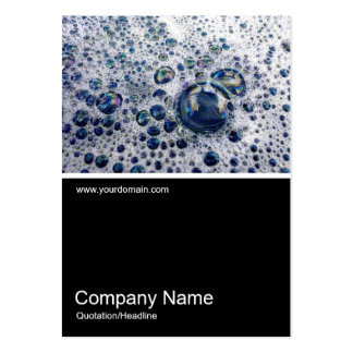 Half&Half Photo 070 - Suds Large Business Cards (Pack Of 100)
