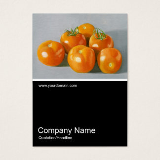 Half&Half Photo 078 - Vine Ripened Tomatoes, Oil Business Card