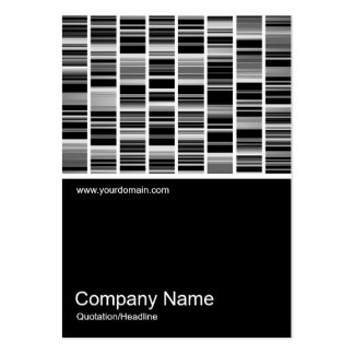 Half&Half Photo 095 - Codex Abstract Large Business Cards (Pack Of 100)