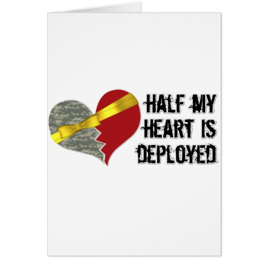 half heart is deployed card