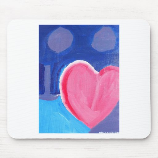 Half-Hearted Mouse Pad