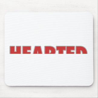 Half Hearted Mouse Pad