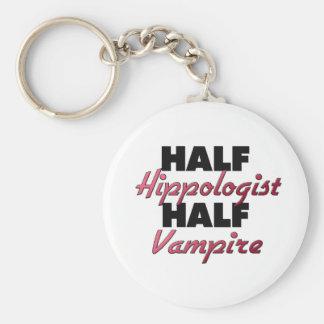 Half Hippologist Half Vampire Key Chain