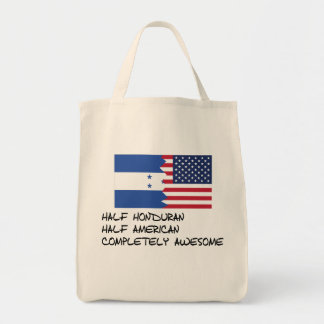 Half Honduran Completely Awesome Tote Bag