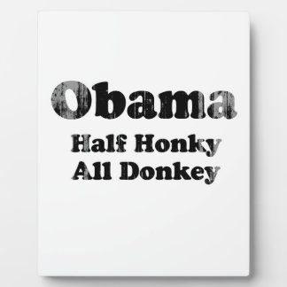 Half Honky All Donkey Faded.png Plaques