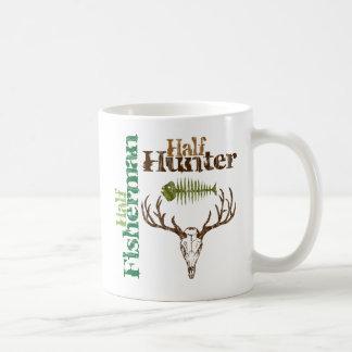 Half Hunter Half Fisherman Coffee Mug