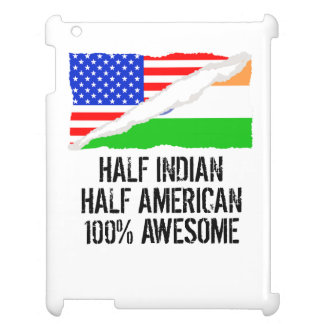 Half Indian Half American Awesome Cover For The iPad 2 3 4