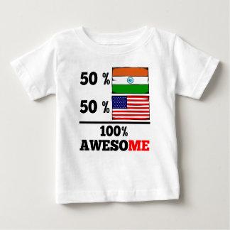 Half Indian Half American T Shirt