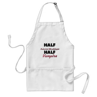 Half Industrial Microbiologist Half Vampire Adult Apron