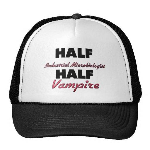 Half Industrial Microbiologist Half Vampire Mesh Hats