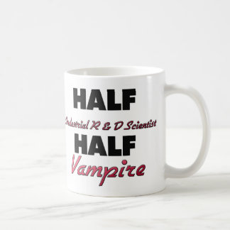 Half Industrial R & D Scientist Half Vampire Coffee Mug